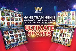 """Hàng trăm nghìn phiếu bốc thăm may mắn cho giải đấu chào mừng tháng 8 """"Ultimate Sports""""!!!"""
