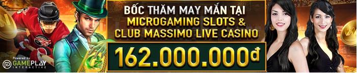 BỐC THĂM MAY MẮN TẠI MICROGAMING SLOTS & CLUB MASSIMO LIVE CASINO