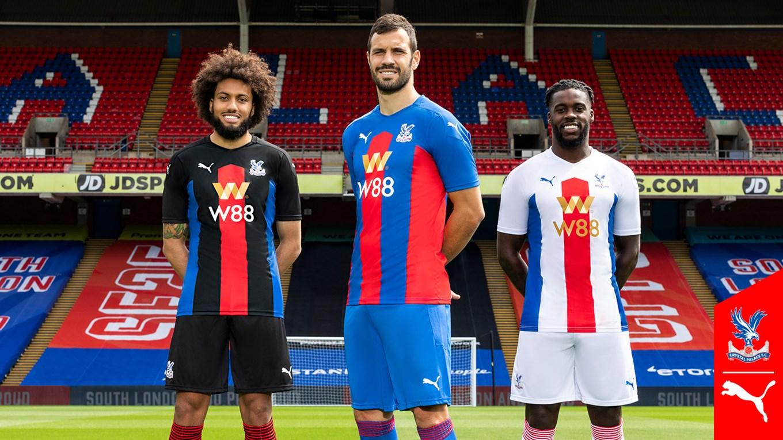 CLB Crystal Palace công bố 3 mẫu áo thi đấu cho mùa giải 2020/21