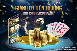 THƯỞNG CỰC TO VỚI LIVE CASINO W88