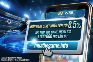 Read more about the article NHẬN NGAY CHIẾT KHẤU LÊN TỚI 8.5% KHI MUA THẺ GAME TẠI MUATHEGAME.INFO