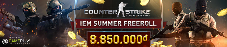 CS:GO IEM SUMMER FREEROLL