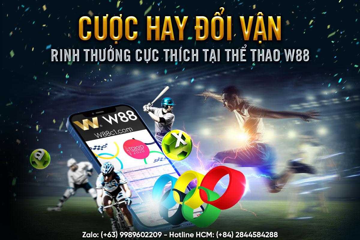 You are currently viewing CƯỢC HAY ĐỔI VẬN –RINH THƯỞNG CỰC THÍCH TẠI THỂ THAO W88